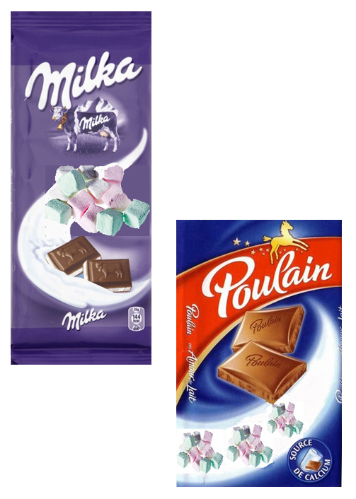 poulain chocolat part de marché
